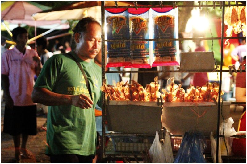 @ the market in Phimai