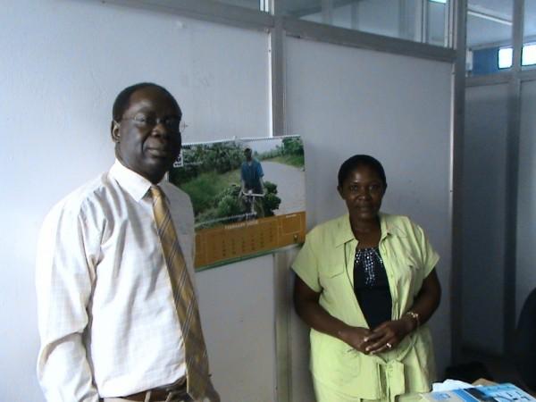Jenifer Bukokhe and UN in Kampala