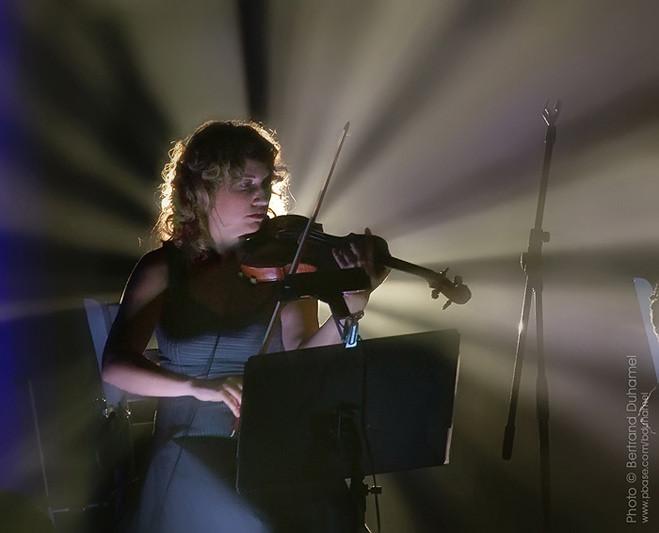 La violoniste - The violonist