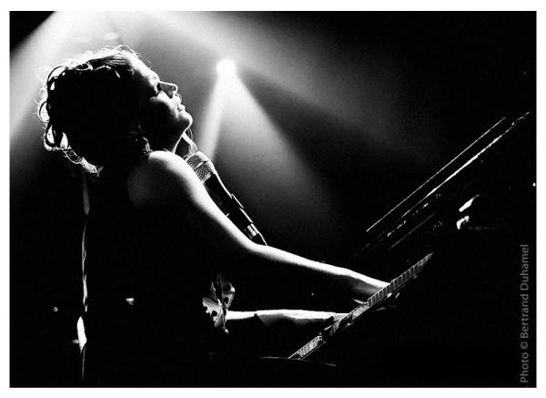Singer chanteuse music jazz bertrand duhamel