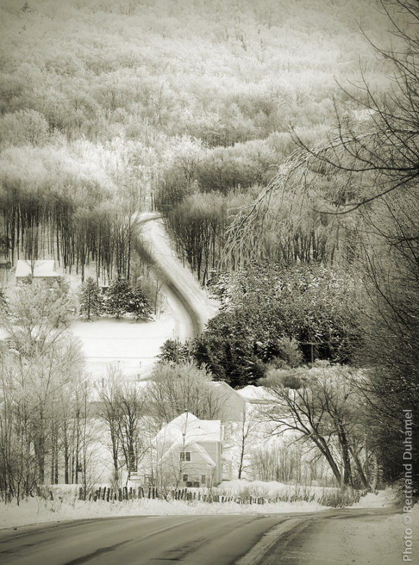 Dans ma campagne en hiver