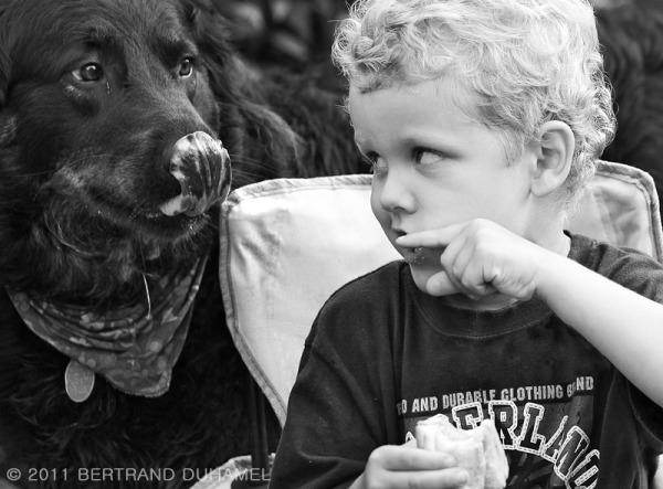 Hey...! It's my hot dog !