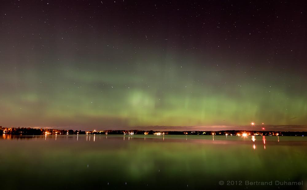 Aurora borealis 2012-10-09