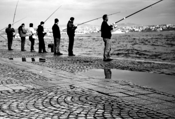 Die Fischer und keine Frauen