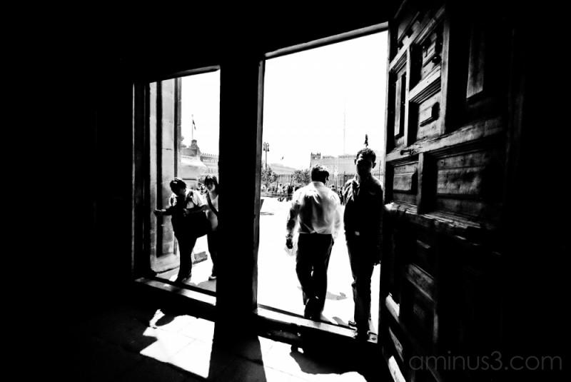 Entrance to Catedral - Zocalo, Mexico City