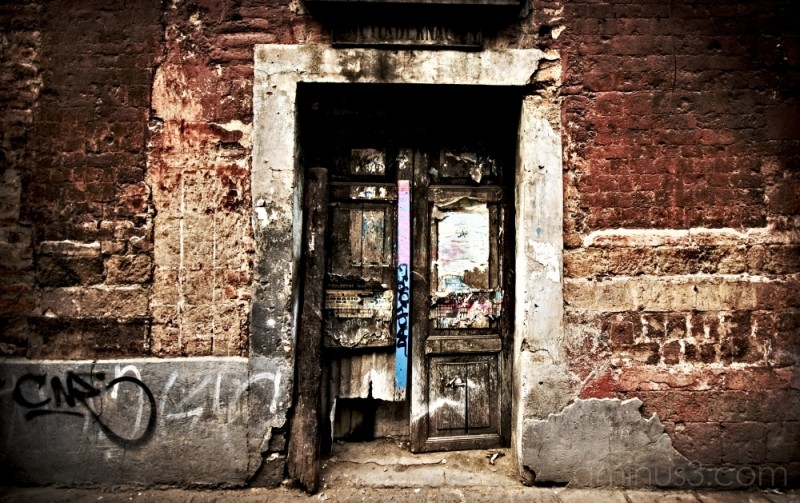 Door in the Historic Center, Mexico City.