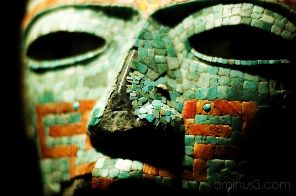 Prehispanic art at the Museum of Anthropology.