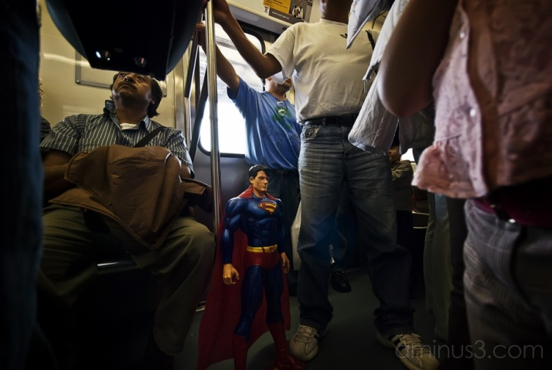 Man of steel among: a man of the people.