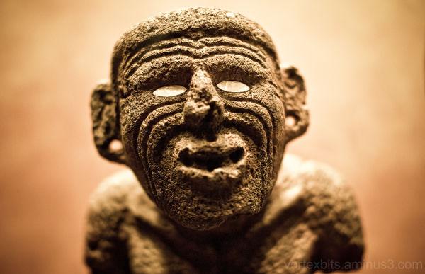 Haunting Look - Museo de Antropologia, Mexico City