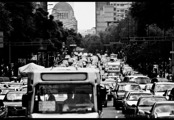 Traffic - Centro Historico, Ciudad de México