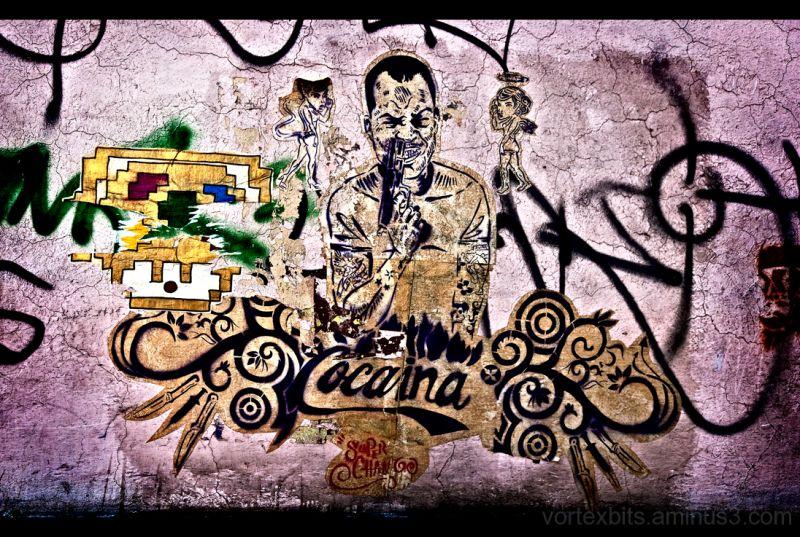 Cocacaina - Urban Art - Coyoacán, Ciudad de México