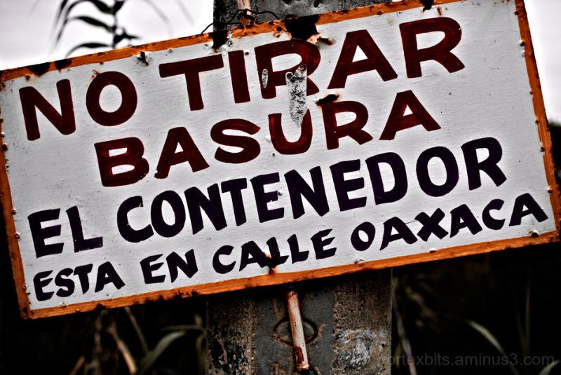 No Tirar Basura... Temixco, Morelos