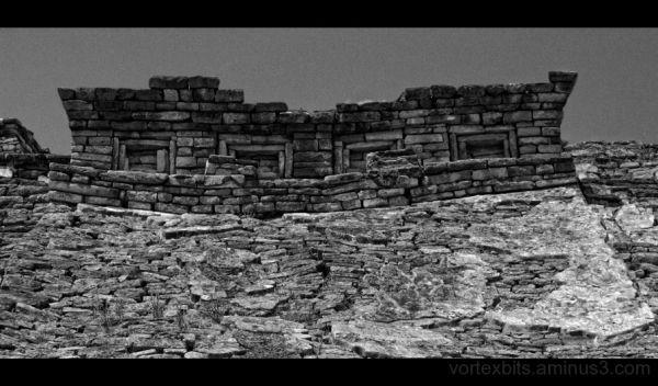 Ruin at Tajin, Mexico.