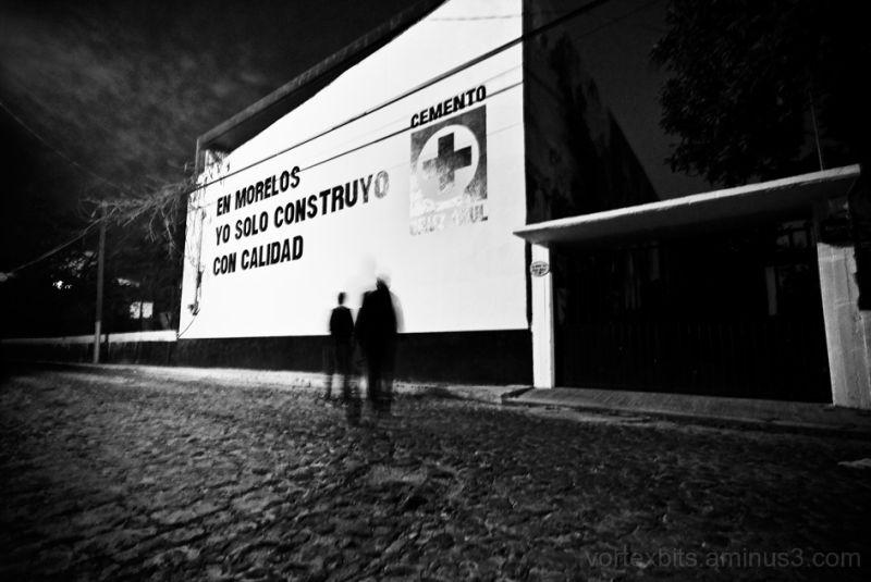 A night walk in Temixco, Morelos.