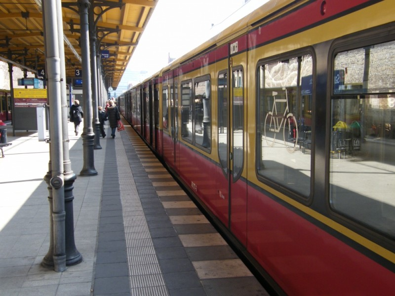 S-Bahn train Berlin