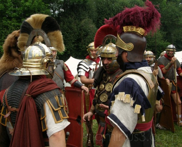 The romans are coming