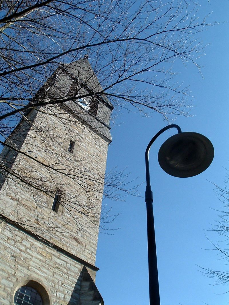 Tower and light
