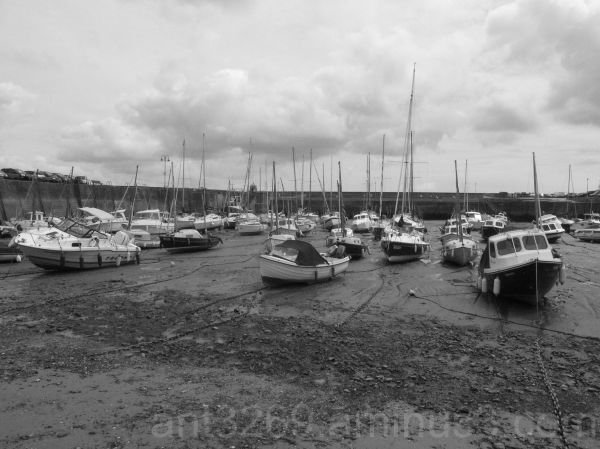 Black and White boats #2