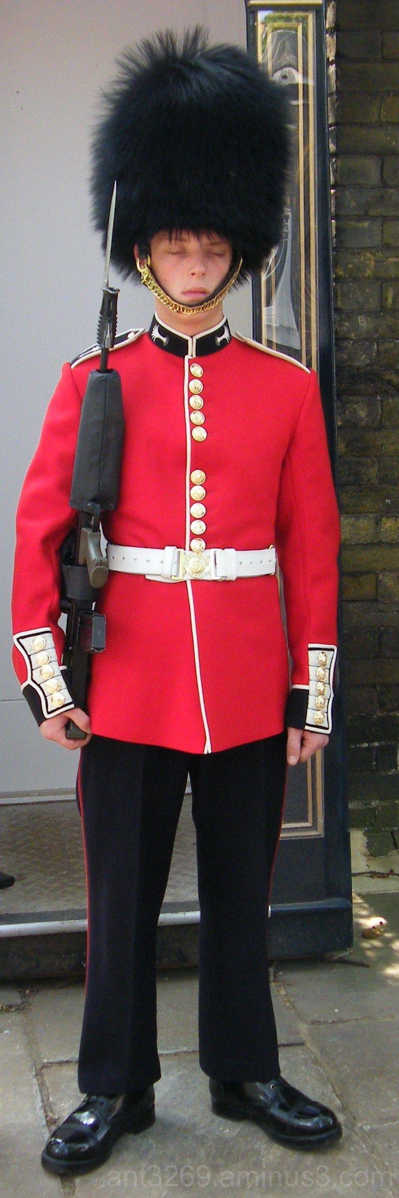 Snoozing Guardsman