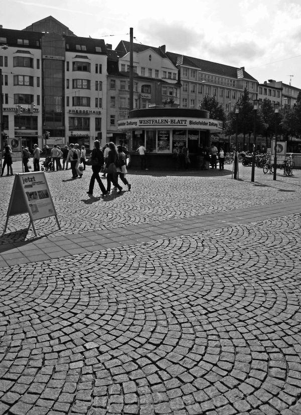 Town centre cobblestones #2