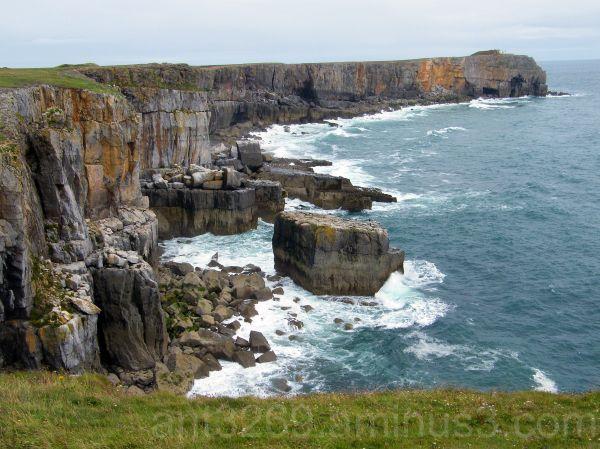 The Pembrokeshire coast