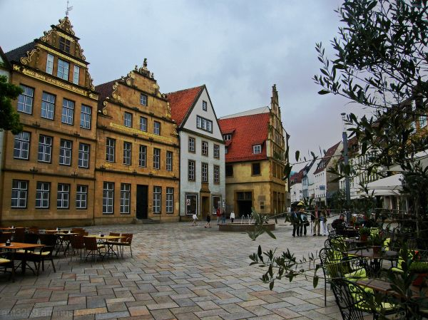 The old market square