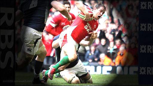 The flying Welshman