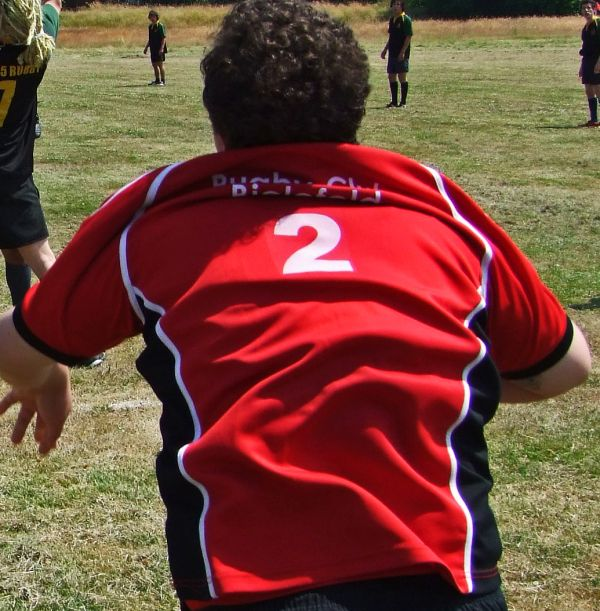 Rugby close up #2