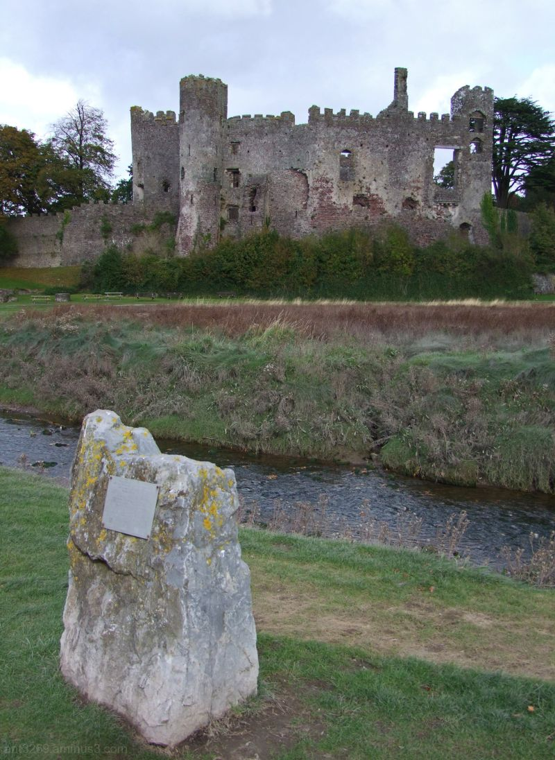 Water-Stream and Castle