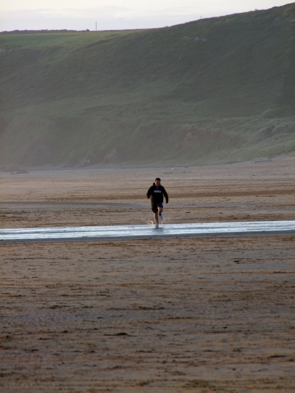 The lonely runner