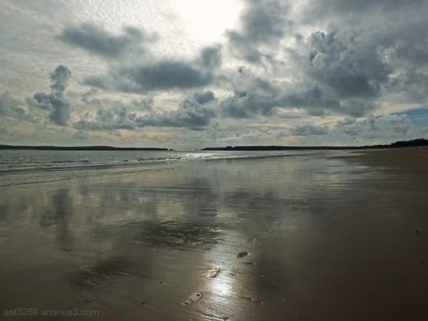 Beach reflections !!