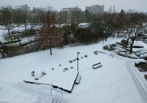 City snow ..