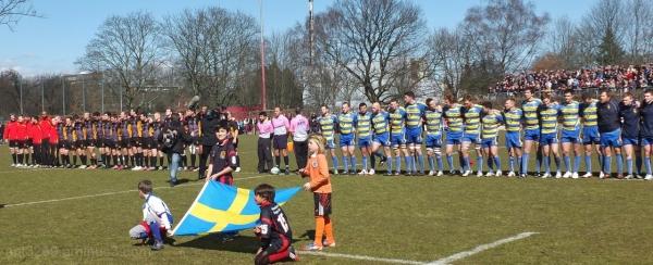 Germany vs Sweden Rugby International.