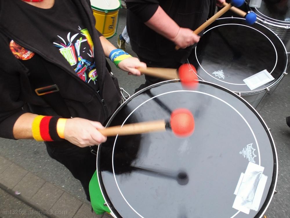 Parade drums