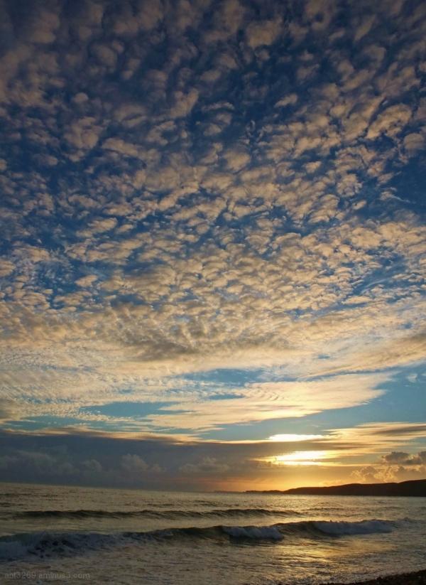 West Wales sky