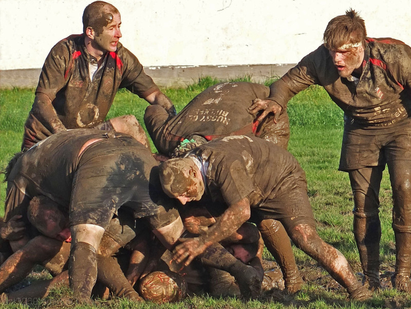 There´s nothing like a good ruck !!