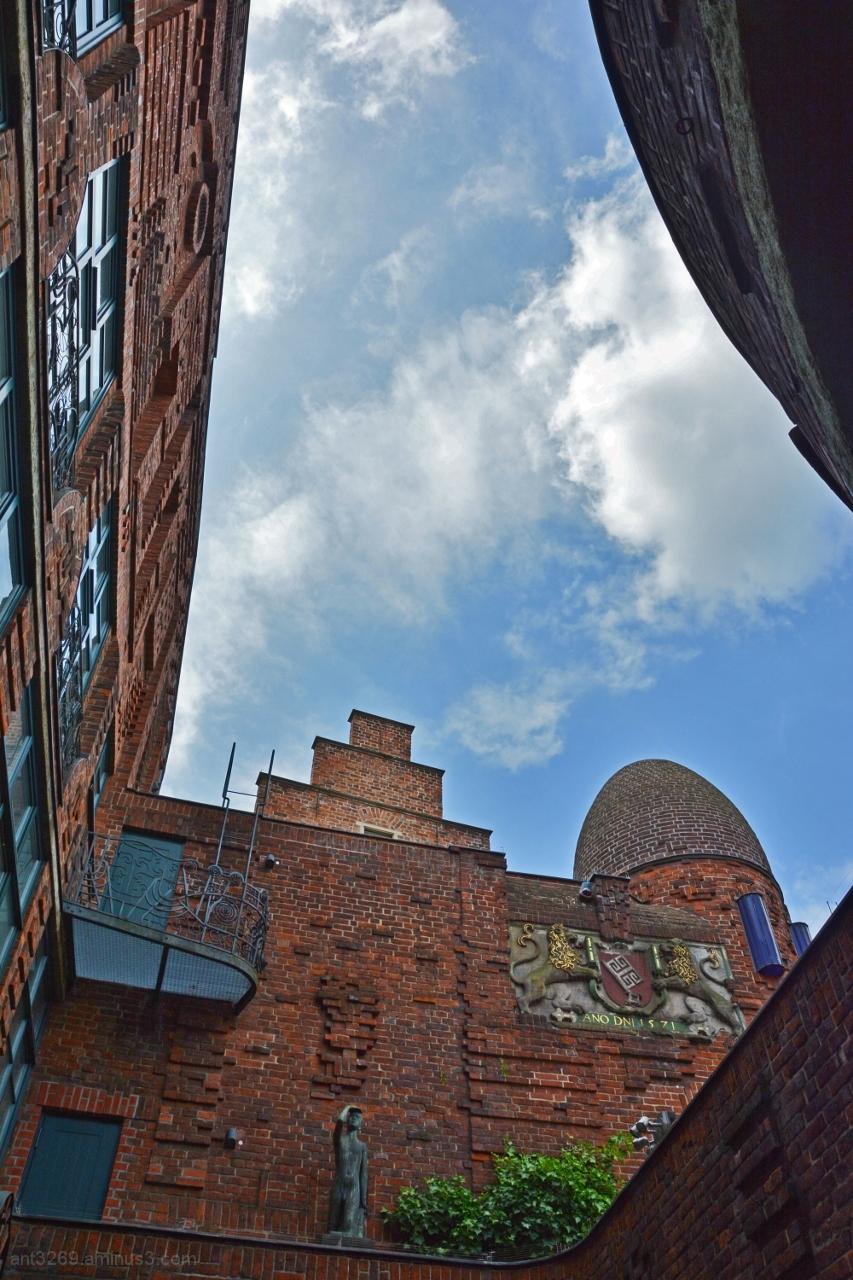Bricks and sky