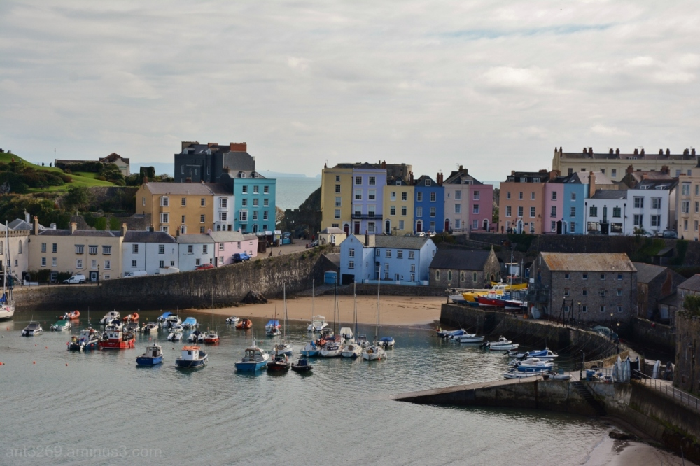 Tenby Harbour Tide´s in #3