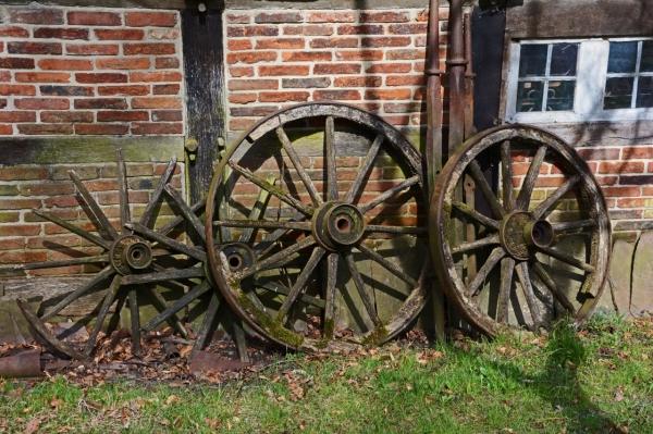 Broken wheels