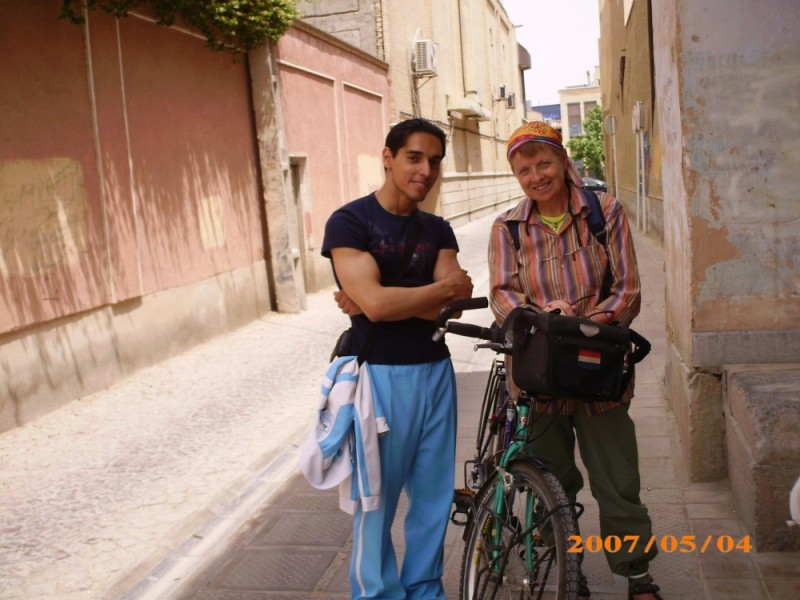 A professional Cycle Tripper from Nederlands