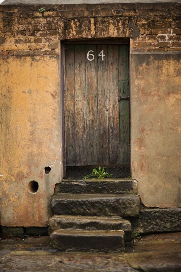 Rustic door 64 old