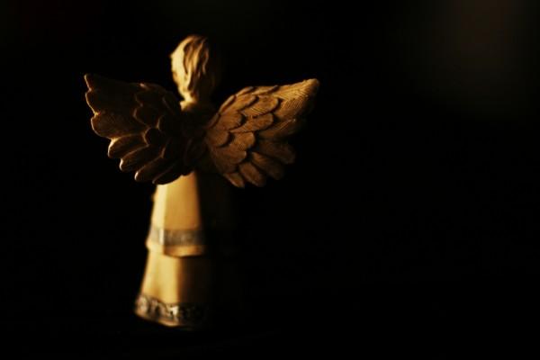 Angel wings figurine