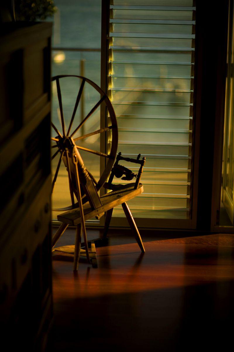 threading wheel