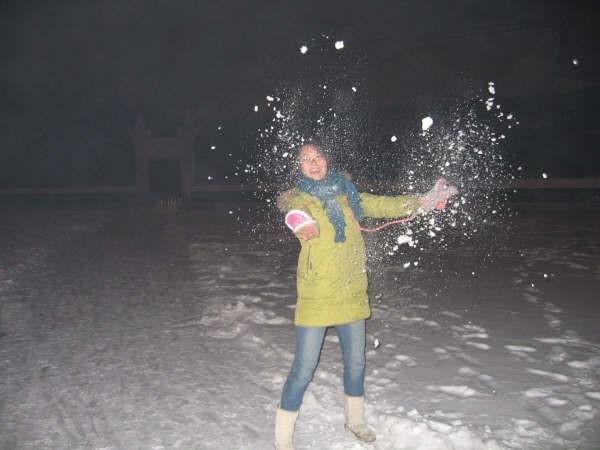 Peking Snowed In