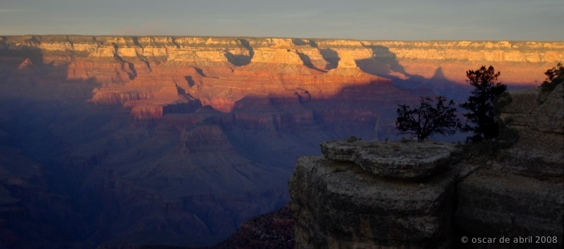 Sunset in the Grand Canyon