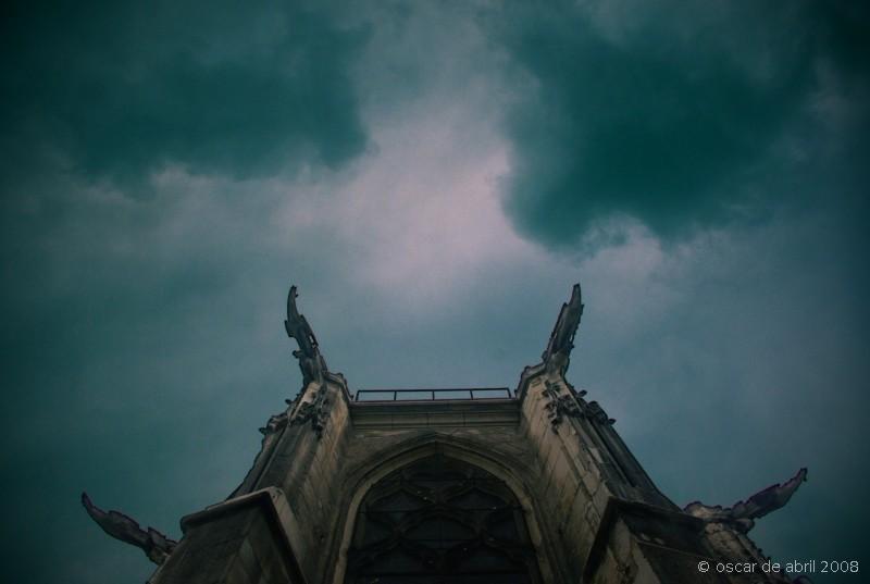gargoyles gothic church
