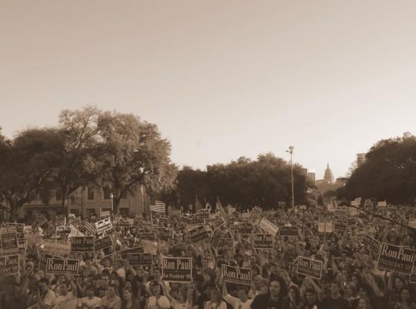 Ron Paul Rally in Austin