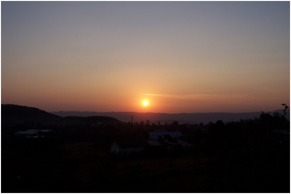 Sunrise @ Pirangut ghat