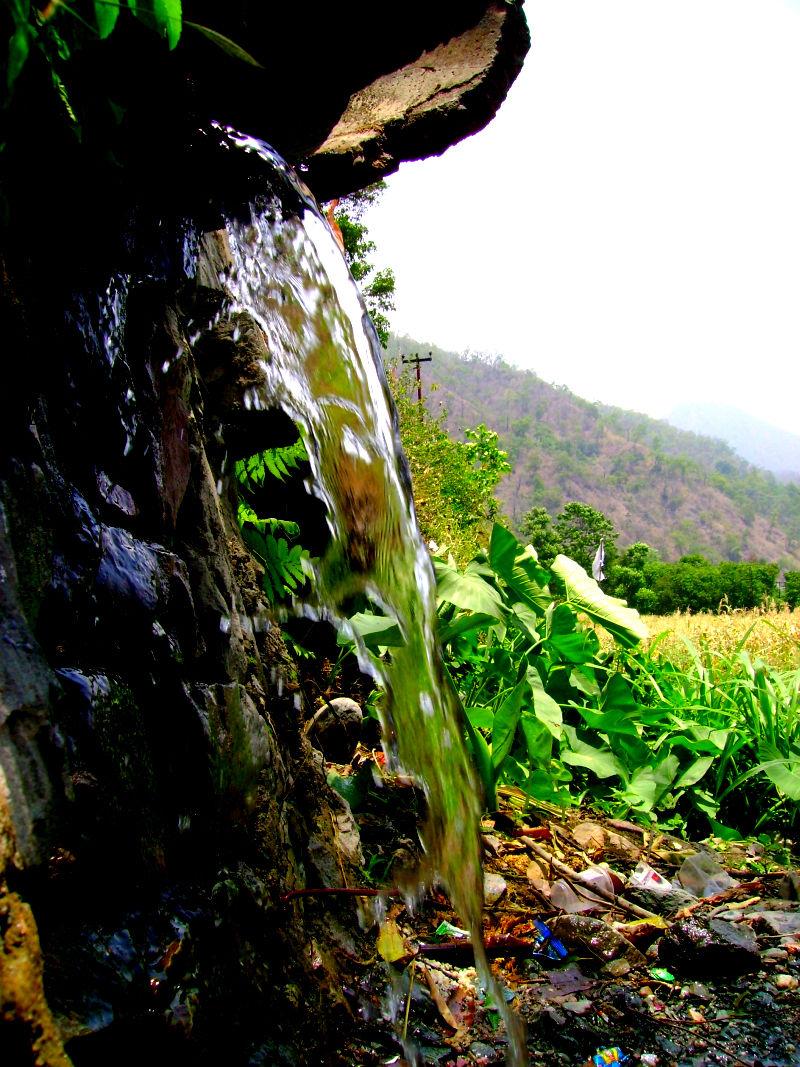 waterfall,hills,nainital