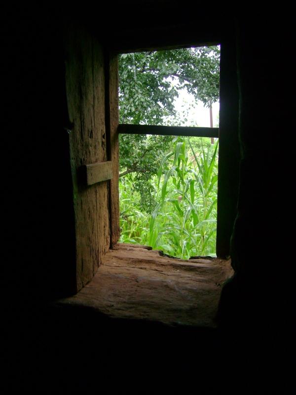 window hope and light through dark